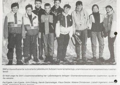 Sisimiut Kommune Nyhedsbrev Marts 1990